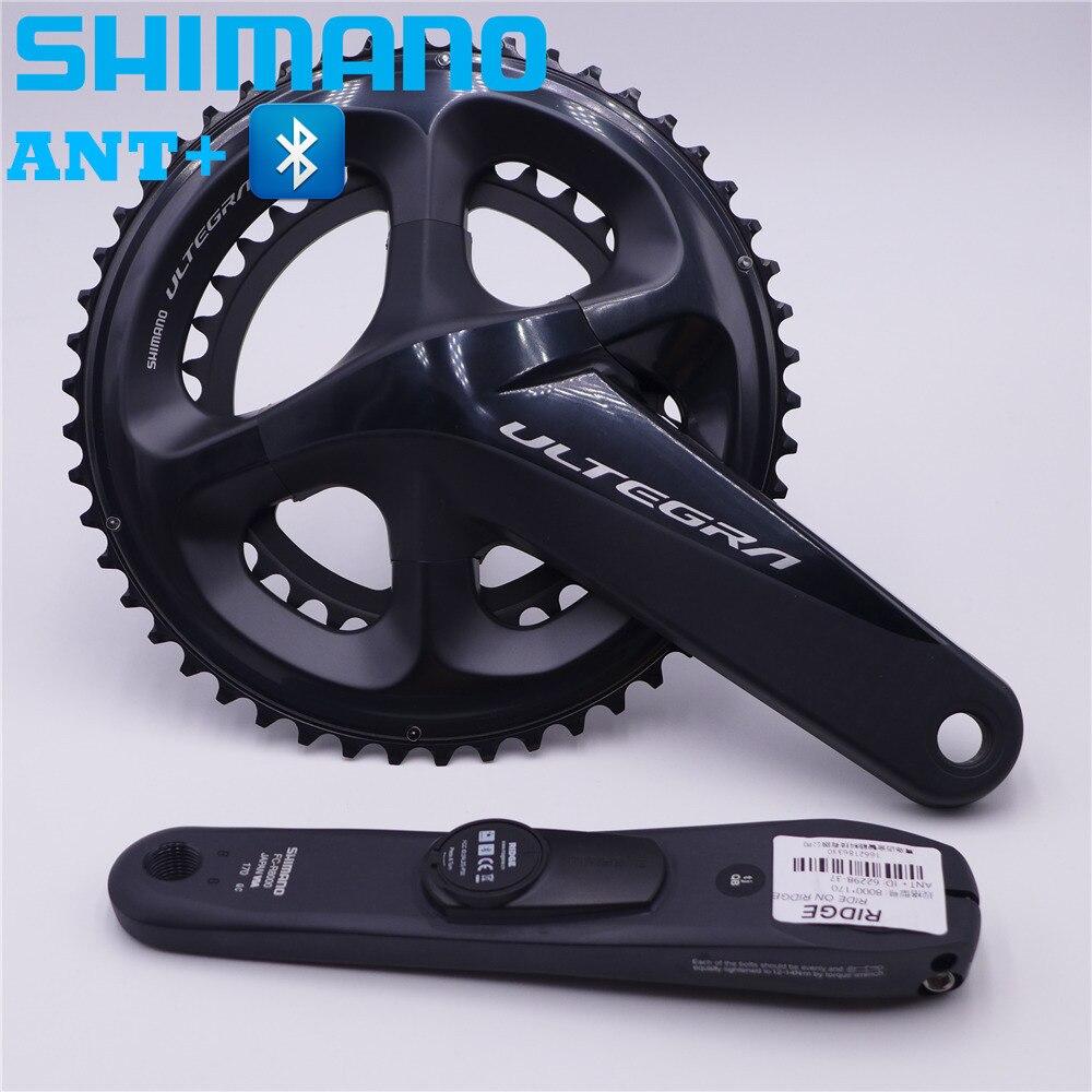SHIMANO Ultegra R8000 vélo de route compteur de puissance pédalier roue à chaîne 170mm/172.5mm 50-34 T 53-39 T 52-36 T