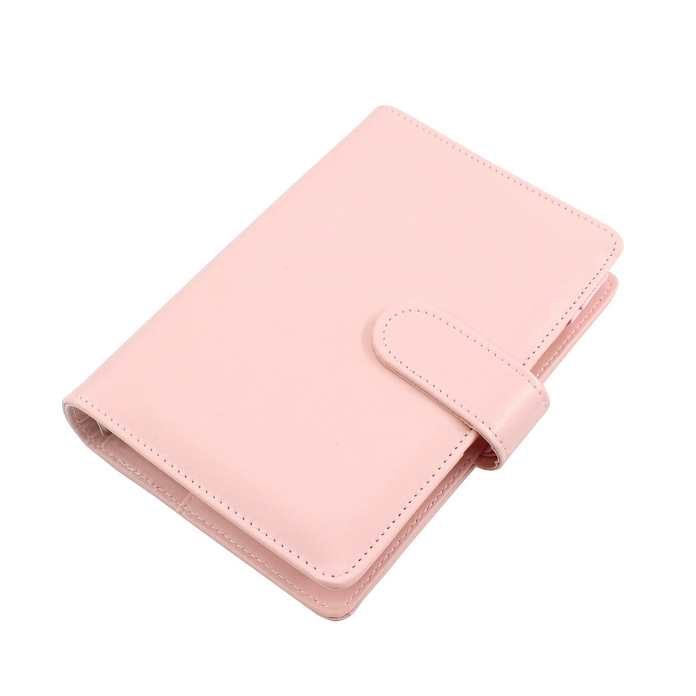 A5 A6 PU Leather Spiral Notebook Daily Weekly Monthly Agenda Calendar Writing Books Filofax Planner Organizer with Pen Card a6 uk style multi function zip fauxleather spiral filofax notebook portable agenda planner organizer lock code