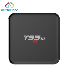 Android Tv Box T95M Android 5.1 OS встроенный 2.4 Г 5 Г wi-fi Smart S905 16.0 Quad-Core 2 ГБ/8 ГБ H.265 4 К media player T95 м