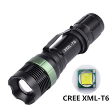 CREE XML L2 T6  XPE Q5 LED 1200LM Aluminum Alloy Zoomable Flashlights Torches lamplight for 18650 Rechargeable or AAA Battery usa eu hot e17 cree xml t6 led 2000lm aluminum zoomable flashlights torches lamplight for 18650 rechargeable or aaa battery
