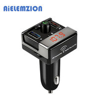 AiELEMZION Wireless Bluetooth Adapter Handsfree MP3 Music Player Support TF Card USB Flash Drive Play 5V