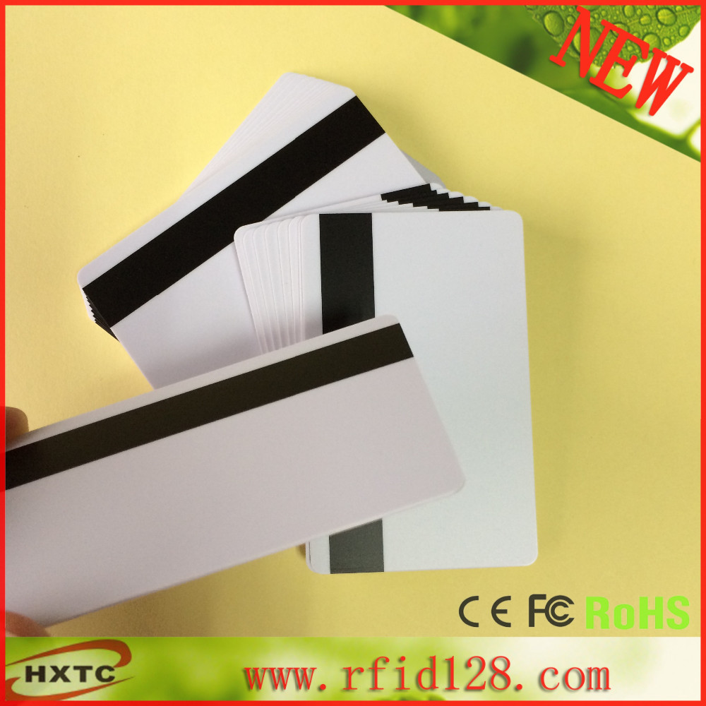 200pcs Track 1,2 and 3 Magnetic Stripe Blank  Card for school library management Access control 200pcs lot customable 8 4mm mag stripe 2 track pvc smart card