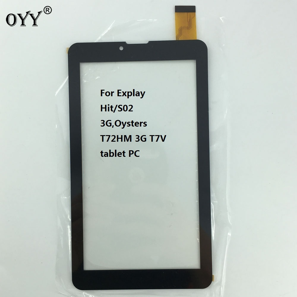 7'' inch P031FN10869A Touch Screen Panel Sensor For Explay Hit/S02 3G,Oysters T72HM 3G T7V tablet PC цены