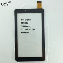 "7"" inch P031FN10869A Touch Screen Panel Sensor For Explay Hit/S02 3G,Oysters T72HM 3G T7V tablet PC"