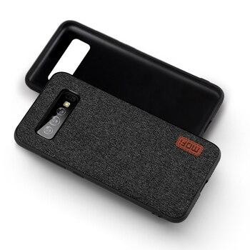Galaxy S10 Plus Fabric Back Case