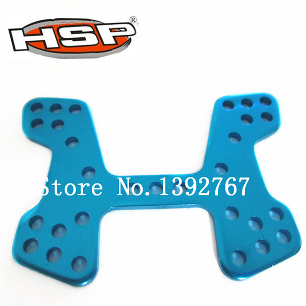 06058 HSP Front Shock Tower RC Cars Spare Parts For 1/10 Scale Model Nitro Power Advanced Off Road Buggy 94166 Backwash