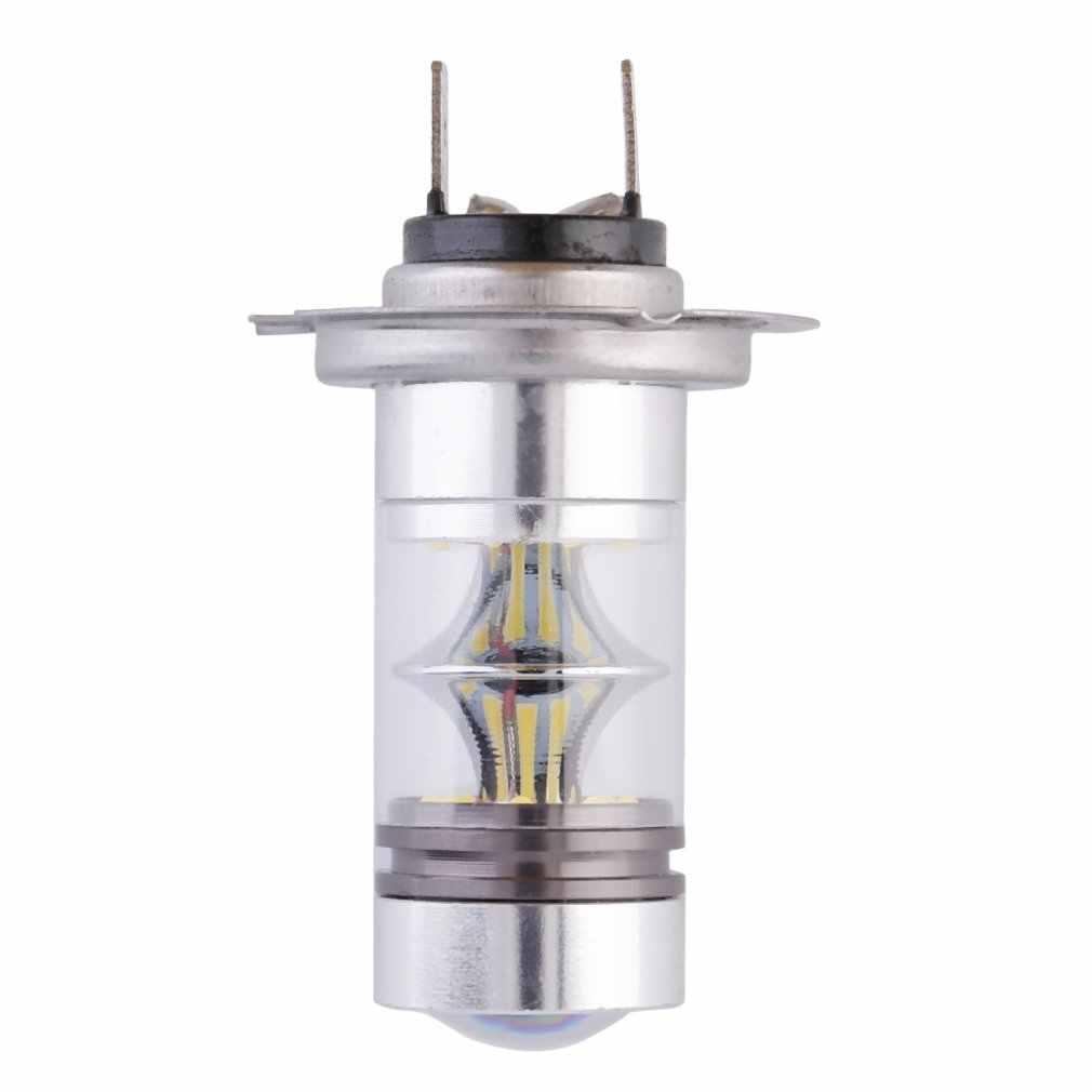 1x Hid Bianco H7 6000K 100W Led 20-SMD Proiettore Nebbia di Guida Della Luce Drl Lampadina SLC88