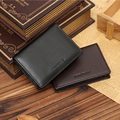 Luxury Famous Brand Handy Portfolio Leather Men Wallet Purse Male Clutch Bags With Money Perse Portomonee Walet Cuzdan Vallet