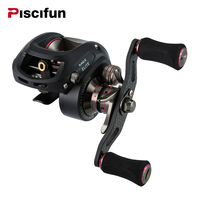 Piscifun 2016 New SAEX ELITE Baitcasting Fishing Reel Right Left Hand 13BB 7 3 1 167g