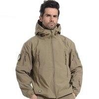 Lurker Shark Skin Soft Shell V4 0 Casual Military Tactical Jacket Men Waterproof Windproof Hunt Camouflage