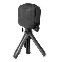 Мини EVA чехол Защитная сумка для GoPro Hero 8 7 6 5 черный серебристый белый Спортивная камера ПУ коробка для хранения Dji Osmo аксессуары для действий 3