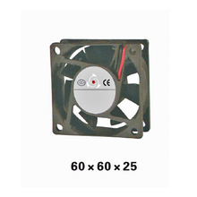 5pcs/ lot 60 Type Airflow DC12V Axial sleeve bearing Fan 60*60*25mm Axial Cooling Fan for Electric Cabinet XFS6025 все цены