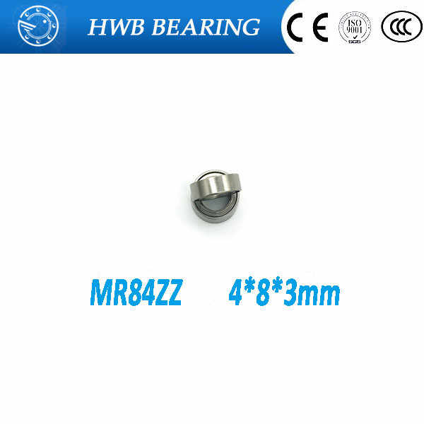 50pcs//lot MR148ZZ 8X14X4mm miniature deep groove Ball Bearings MR148 L-1480ZZ
