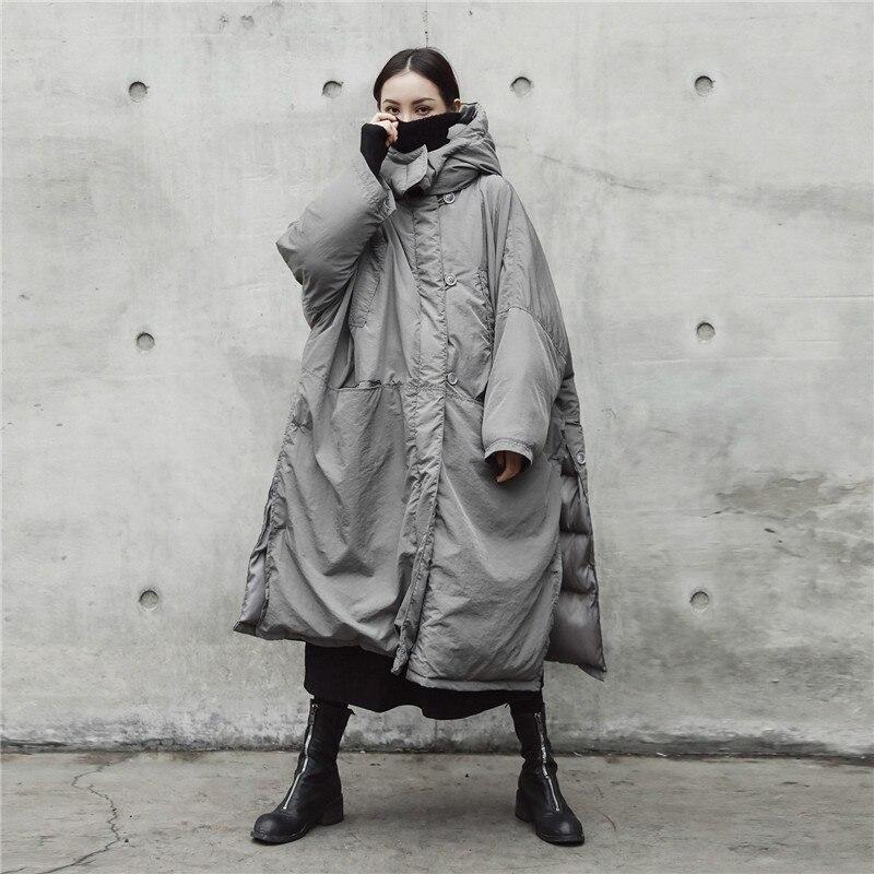 2018 veste d'hiver femmes épaississement chaud doudoune femmes Parka Long manteau Slim à capuche veste lâche grande taille vêtements d'extérieur S112