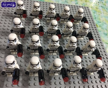 HAOGAOLE 300pcs white clone stormtrooper  building block bricks figures baby toys compatible with