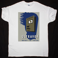 ULTRAVOX RAGE IN EDEN NEW WAVE SYNTHPOP ART ROCK JAPAN YAZOO NEW WHITE T SHIRT 100% Cotton Tee Shirt,Summer O Neck Tee