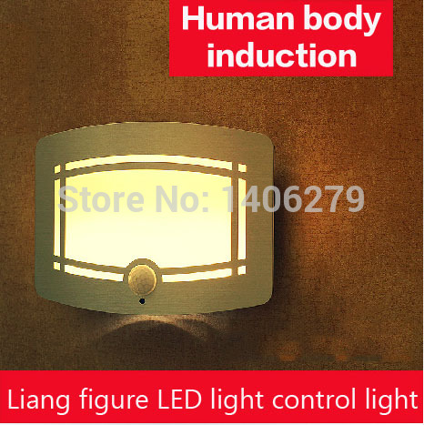Batterij-aangedreven LED-sensor Nachtlampje PIR Bewegingssensor - Nachtlampje