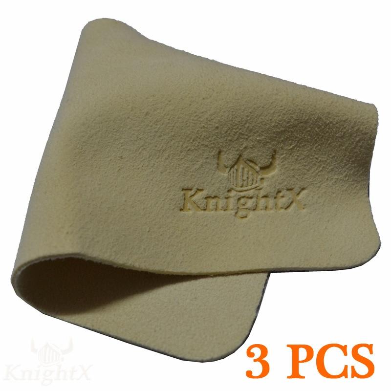 מנקה עור צבי KnightX 3 יחידות בד נקי משקפיים עדשת מצלמה CPL UV מסנן כוכב אביזרי זכוכית מגבונים אופטי עדשות שרף lcd