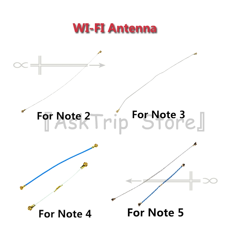 US $1 89 5% OFF|100% New Wifi Flex For Samsung Galaxy Note 2 3 4 5 8 WI FI  Antenna Signal Flex Cable Replacement Phone Repair Parts-in Mobile Phone