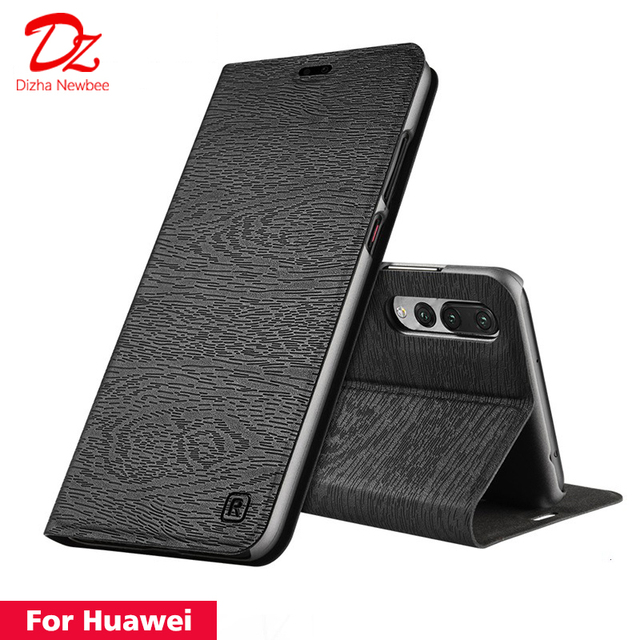 Para Huawei P20 P30 Lite Pro P9 P10 Plus Funda de cuero para Huawei nova 2 plus 3 2 s 3i 4e PU Flip cubierta de ranura para tarjeta soporte