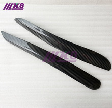 Carbon Fiber Headlight Covers Eyelids eyebrows Fit for Volkswagen Golf MK6