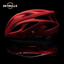 цена на Skybull Men Mountain Bicycle Helmet CPSC CE Ultralight Cycling Helmet Integrally-molded EPS Road Bike MTB Helmets Casco Ciclismo