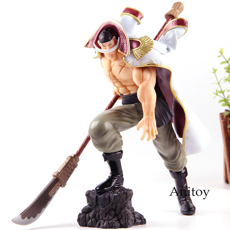 One piece anime edward newgate pvc one piece white beard figure action collection model toys in - Newgate one piece ...