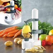 Eléctrica de múltiples funciones de frutas y verduras pelador pelador de patatas peladora automática máquina de pelar