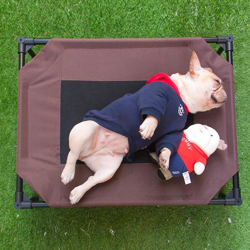 Ademend Gezondheid Zomer Hond Slaapbank Reizen Huis Beetje Klein Medium Dier Wasbare Puppy Slapen Huisdier Mat Thuis Leveringen Exquise (On) Vakmanschap