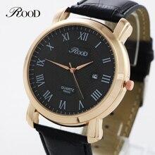 CRUZ Hombres Relojes Casuales Mostrar La Fecha RD-0580 Marcas Relogio Nueva Moda Reloj de Cuarzo Relojes de cuero A Prueba de agua