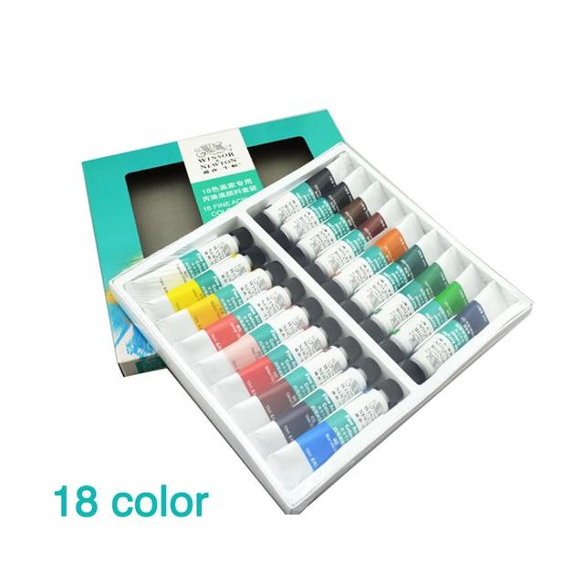 18 farben/set Neue Malerei Acrylfarben für Kinder Studenten ...
