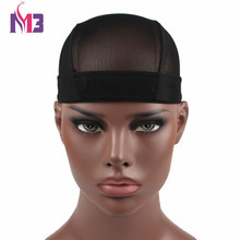 10PCS/lot Wholesales New Arrival Unisex Men Women Dome Wig Cap Bonnet Mesh Hat