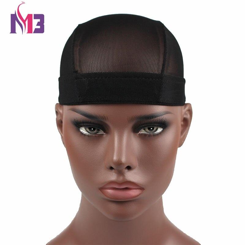 10PCS/lot Wholesales New Arrival Unisex Men Women Dome Wig Cap Bonnet Mesh Hat