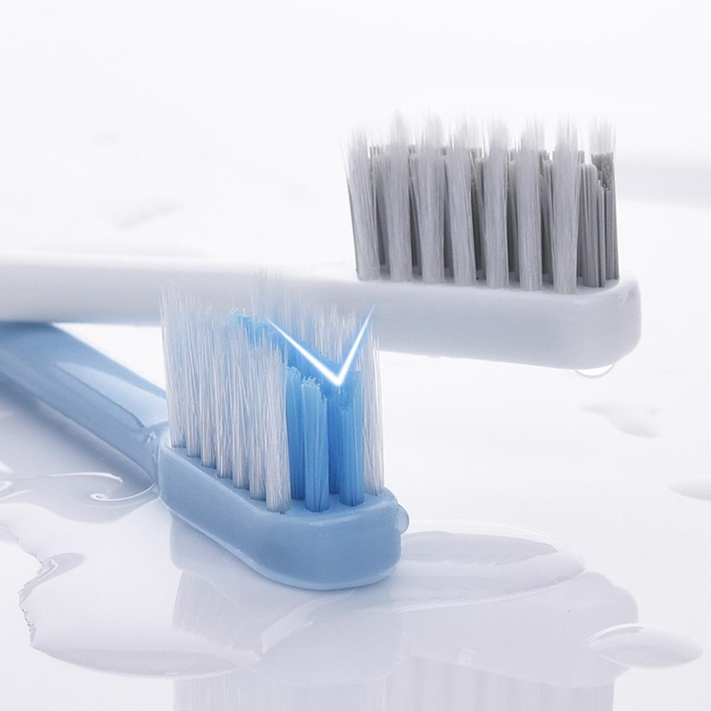 Toothbrush V-shape Orthodontic Toothbrush Correction Teeth Special Braces Tooth Socket Soft Hair Toothbrush For Adult Children image