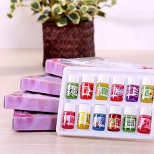 12 bottle 3ml Pure Essential Oils set Fragrance Air care Watersoluble Essential