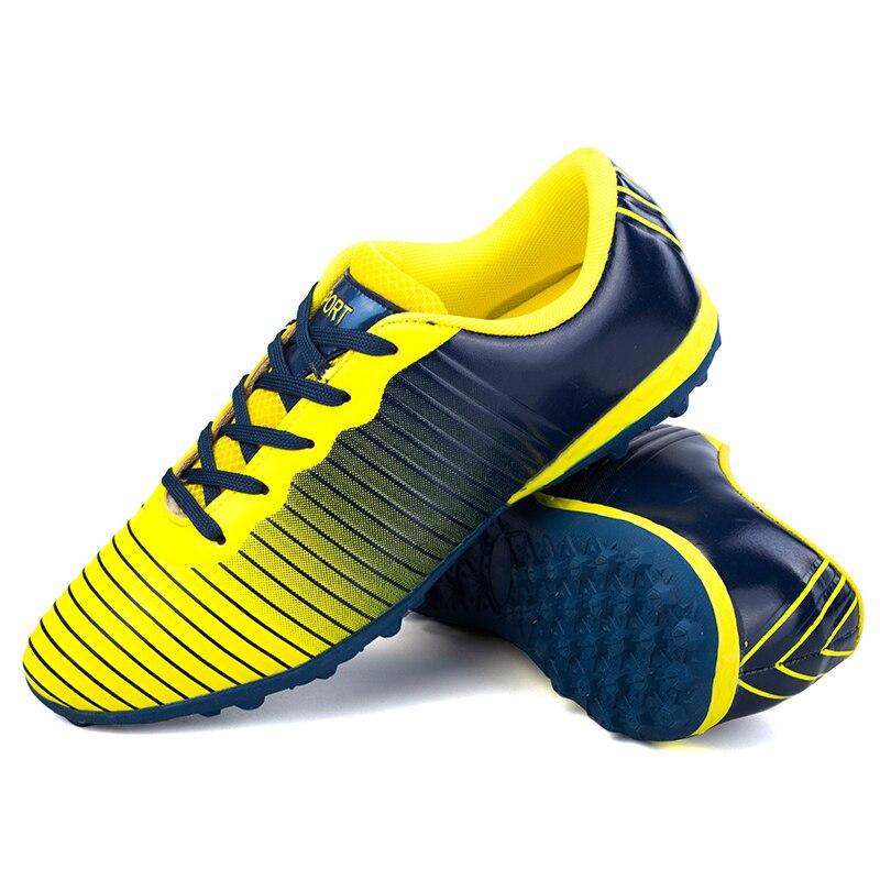 Оригинальный бренд, мужские футбольные бутсы, футбольная обувь для взрослых, TF сломанные ногти, Нескользящие Детские тренировочные бутсы,