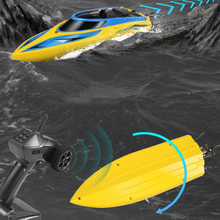 2.4G Remote Control High Speed Boat 20-25KM/h Ship Model Children Simulation Electric Toy Competitive Childrens Toys