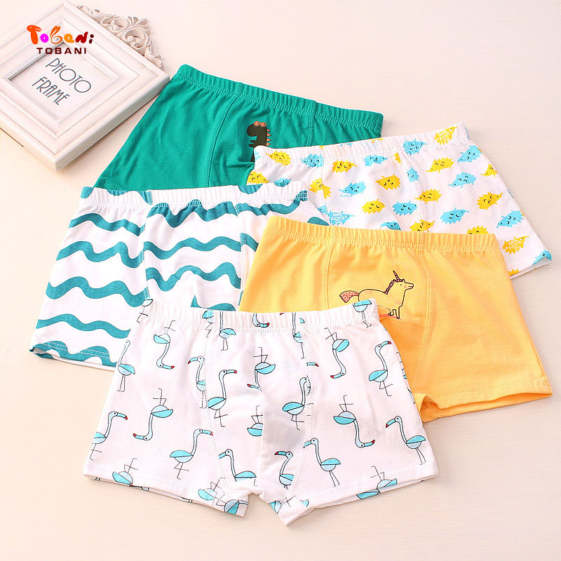 Boys Panties Boxer Children Underwear Male Cotton Shorts Children Underpants Children Cotton Underwear Tobani