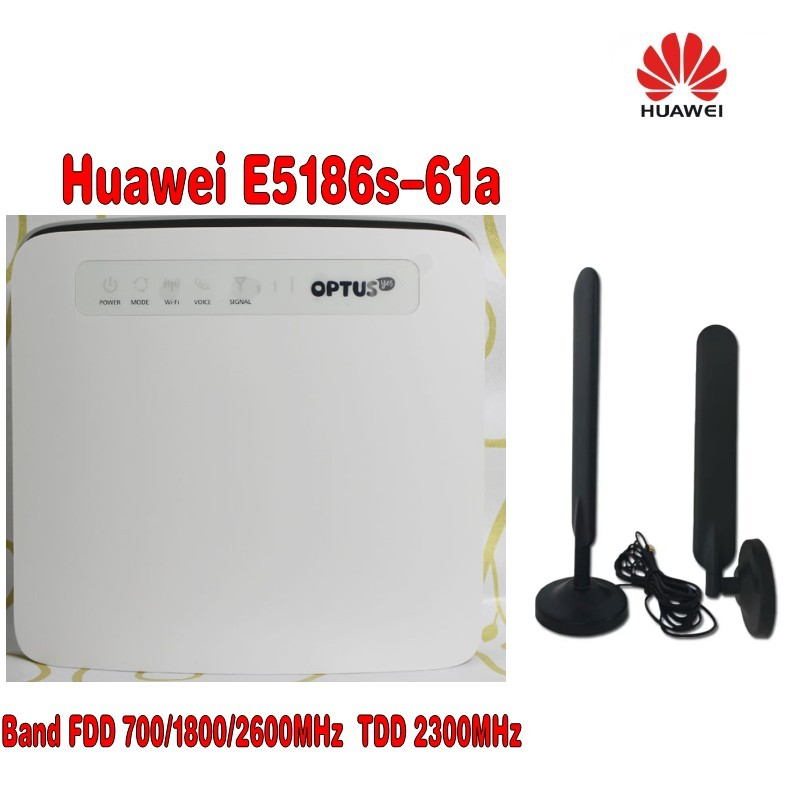 2 PCS B315 B310 B593 B525 B880 B890 E5186 10dBi SMA Male 4G LTE Router Antenna with magnet base(Router not included)