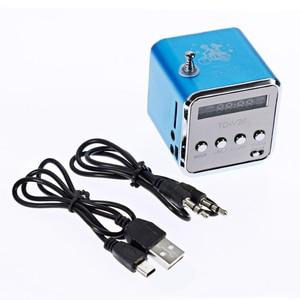 Image 5 - Rovtop mini receptor de rádio fm portátil, TD V26, digital, com tela lcd, alto falante estéreo, suporta cartão micro tf