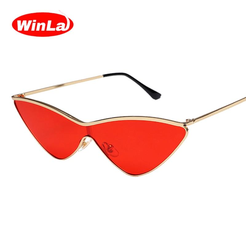 Winla moda diseño mujeres Gafas de sol gato atractivo Sol Gafas ...