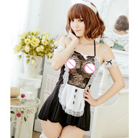 COSPLAY Maid clothing Sexy lingerie women costumes fascinate Sex Products toy Sexy underwear Role play Sexy nightwear