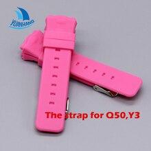 Smart Safe GPS Location Finder Locator Tracker for Kid Son Child Baby Watch Wristwatch Strap for Q50 Y3