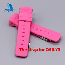 Smart Safe GPS Location Finder Locator Tracker for Kid Son Child Baby Watch Wristwatch Strap for Q50 Y3(China)