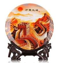 Ingenious Chinese Jingdezhen porcelain Lotus Decorative plate