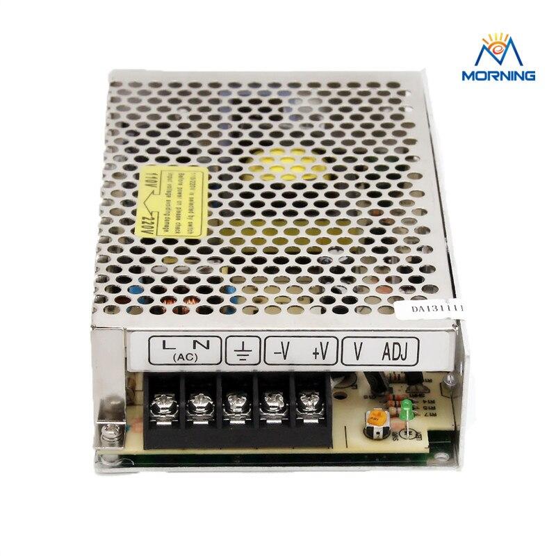 S-50 mrtal case Aluminium switching mode power supply 50W with 5V 12V 24V output gold tone aluminium case resistors 25w power 4 ohm 5