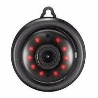 Mini 960P Wireless Intelligent Camera Security Camera 105 Degree Viewing Angle WiFi IR CUT 10 LED