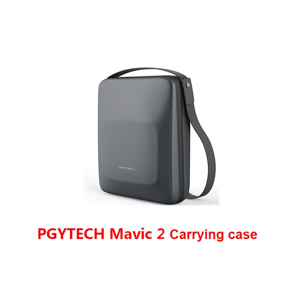 PGYTECH PU EVA Portable Shoulder Bag Storage Box Handbag Case for DJI MAVIC 2 PRO ZOOM Drone Carrying Pouch Cover Accessories pgytech dji mavic 2 bag hardshell shoulder bag carrying case for dji mavic 2 pro zoom fly more combo case portable