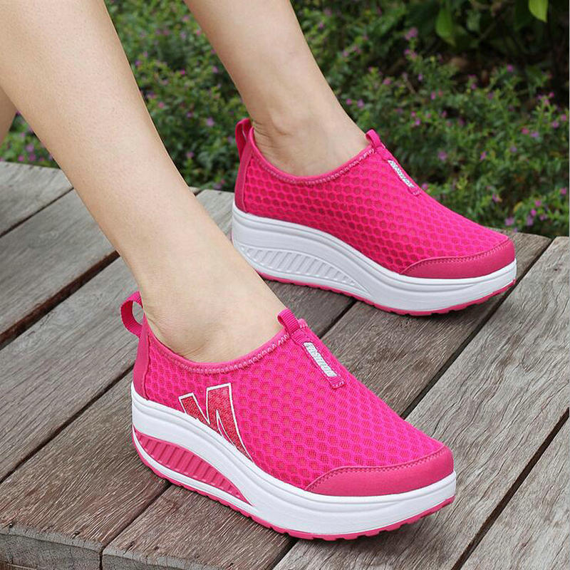 Casual Zapatos Mujeres 12 Altura Moda Mujer 6 4 2017 Para Increasing80 5 Verano Transpirable Swing 2 UEq5Pwd
