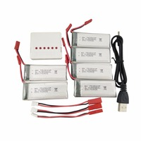 6pcs-37v-900mah-lithium-battery-with-6-in-1-charger-8807-8807w-folding-four-axis-aircraft-spare-parts-battery